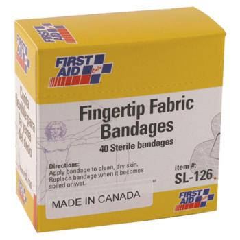 54122 - First Aid Only - G126 - Finger Tip Bandages Product Image