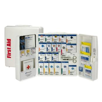 FAO90659 - First Aid Only - 90659 - Large SmartCompliance First Aid Cabinet w/ Meds Product Image
