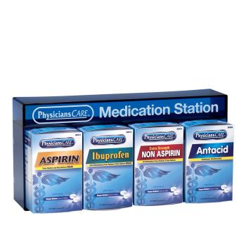 FAO90780 - First Aid Only - 90780 - 4-Piece Medication Station Product Image