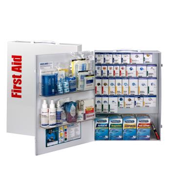 FAO90830 - First Aid Only - 90830 - XL SmartCompliance First Aid Cabinet w/ Medications Product Image