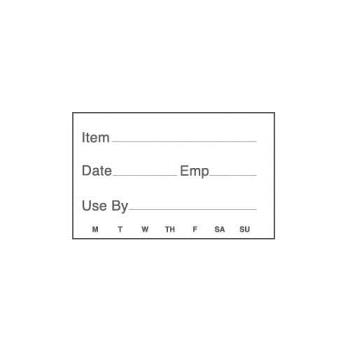 81385 - Cambro - 23SLB250 - 2 in x 3 in Food Rotation Label Product Image