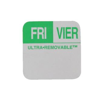 81444 - Commercial - Dissolve-It 1 in x 1 in Friday Label Product Image