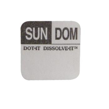 81446 - Commercial - Dissolve-It 1 in x 1 in Sunday Label Product Image