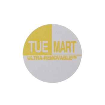 81421 - Commercial - Ultra-Removable 1 in Round Tuesday Label Product Image