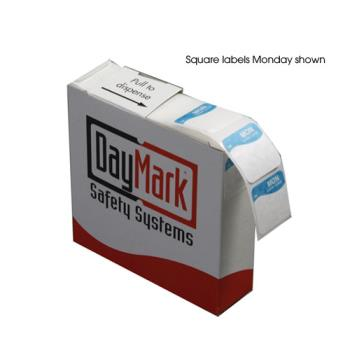 DAY1103417 - DayMark - 1103417 - DuraMark 1 in Round Sunday Label Product Image