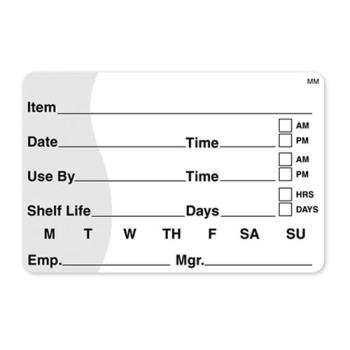 DAY110342 - DayMark - 110342 - MoveMark 2 in x 3 in Use By/Shelf Life Label Product Image