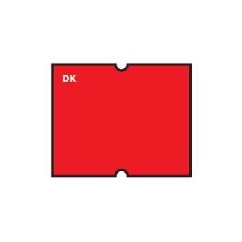 DAY110448 - DayMark - 110448 - DuraMark DM4 2 Line Red Label Product Image