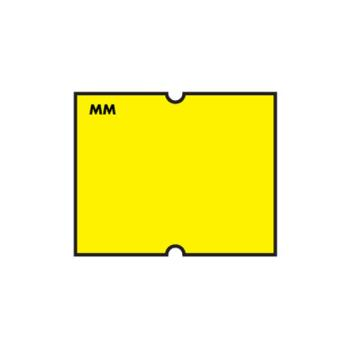 DAY110460 - DayMark - 110460 - MoveMark DM4 2 Line Yellow Label Product Image
