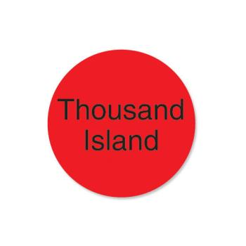 DAY112014 - DayMark - 112014 - DuraMark 1 in Round Thousand Island Label Product Image