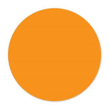 DAY112257 - DayMark - 112257 - MoveMark 3 in Round Orange Label Product Image