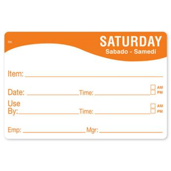 DAY1124676 - DayMark - 1124676 - ReMark 2 in x 3 in Saturday Label Product Image