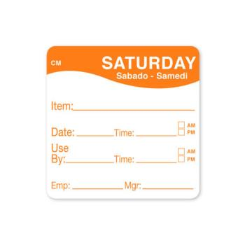 DAY1127826 - DayMark - 1127826 - CoolMark 2 in x 2 in Saturday Label Product Image