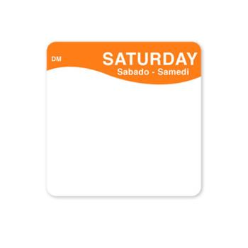 DAY1133336 - DayMark - 1133336 - DissolveMark 2 in x 2 in Saturday Label Product Image