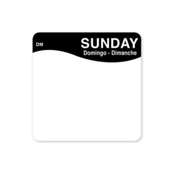 DAY1133337 - DayMark - 1133337 - DissolveMark 2 in x 2 in Sunday Label Product Image