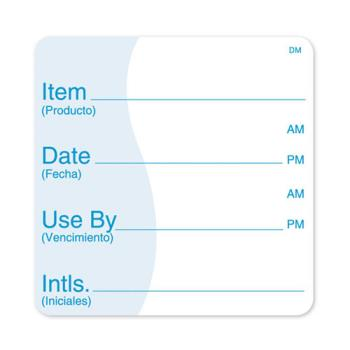 DAY113830 - DayMark - 113830 - DissolveMark 3 in x 3 in Shelf Life Label Product Image