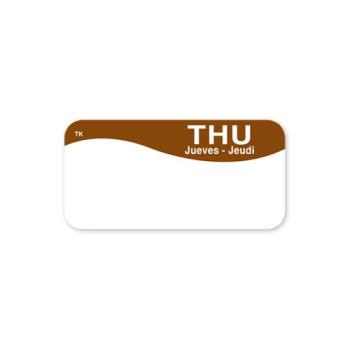 DAY1142354 - DayMark - 1142354 - ToughMark 1 in x 2 in Thursday Label Product Image