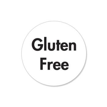 DAY114662 - DayMark - 114662 - DuraMark 1 in Round Gluten Free Label Product Image