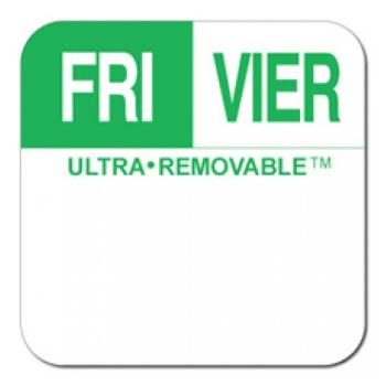 81718 - Dot-It - U556 - 1 in Ultra-Removable™ Square Friday Label Product Image