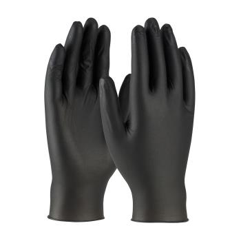 PIN63732PFM - PIP - 63-732PF/M - Black Powder Free Nitrile Gloves (M) Product Image