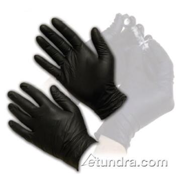 PIN63732PFXL - PIP - 63-732PF/XL - Black Powder Free Nitrile Gloves (XL) Product Image