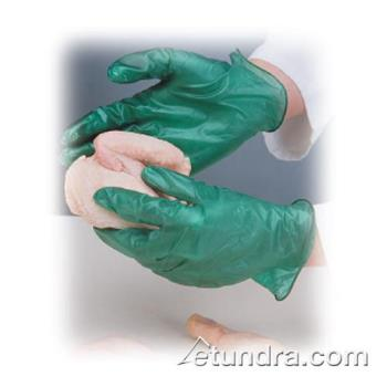 PIN64436M - PIP - 64-436/M - Green Industrial Grade Vinyl Gloves (M) Product Image