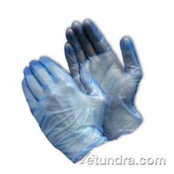 PIN64V77BPFXL - PIP - 64-V77BPF/XL - Blue Powder Free 5 mil Vinyl Gloves (XL) Product Image