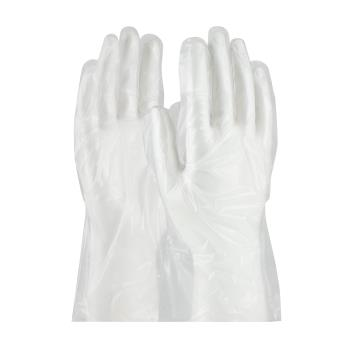 PIN65553M - PIP - 65-553/M - Clear Polyethylene Food Grade Gloves (M) Product Image