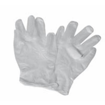 WINGLFPM - Winco - GLFP-M - Medium Vinyl Powder Free Disposable Gloves Product Image