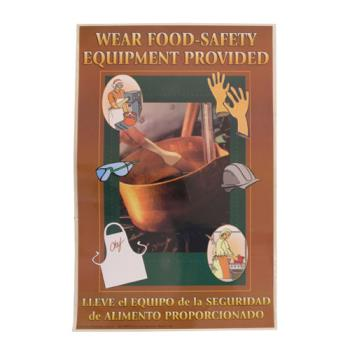 38573 - Commercial - Safety Equipment Food Safety Poster Product Image