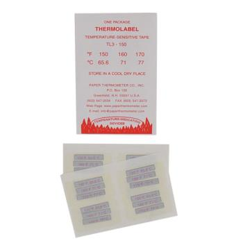 81102 - Commercial - Triple Temperature Dishwasher Test Labels Product Image