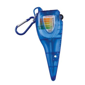 SANSFC1250CL - San Jamar - SFC1250CL - Saf-Check® - Thermometer Holder and Chlorine Test Strips Product Image