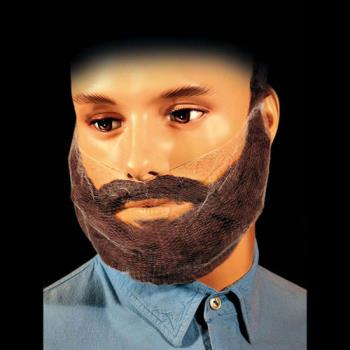 75414 - Commercial - BN500 - Dark Brown Beard Cover Product Image