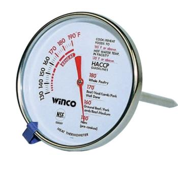 WINTMTMT3 - Winco - TMT-MT3 - 130  - 190 F Meat Thermometer Product Image