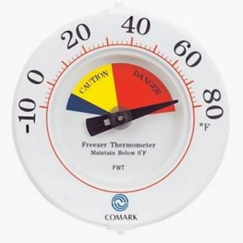 81129 - Comark - FWT - -10  - 80 F Freezer Thermometer Product Image