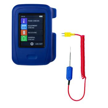 COMHT100PK15 - Comark - HT100/PK15 - HACCP Touch Thermometer Kit With Micro Probe Product Image