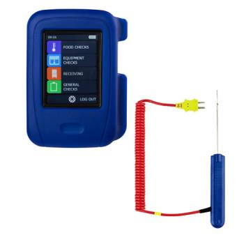 COMHT100PK19 - Comark - HT100/PK19 - HACCP Touch Thermometer Kit With Penetration Probe Product Image