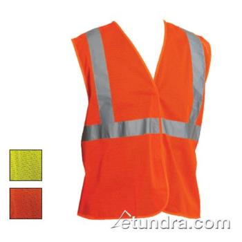 PIN302MVGLY4X - PIP - 302-MVGLY-4X - Yellow Mesh Safety Vest (XXXXL) Product Image