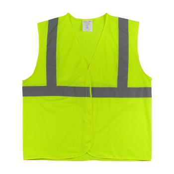 PIN302MVGLYL - PIP - 302-MVGLY-L - Yellow Mesh Safety Vest (L) Product Image