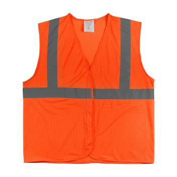 PIN302MVGORL - PIP - 302-MVGOR-L - Orange Mesh Safety Vest (L) Product Image