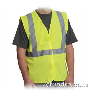 PIN302WCENGLY4X - PIP - 302-WCENGLY-4X - Yellow Solid Safety Vest (XXXXL) Product Image