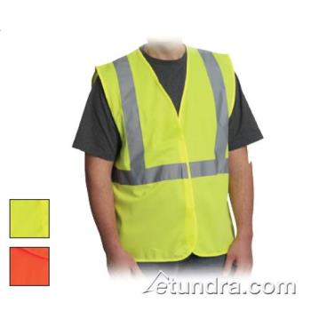 PIN302WCENGORM - PIP - 302-WCENGOR-M - Orange Solid Safety Vest (M) Product Image