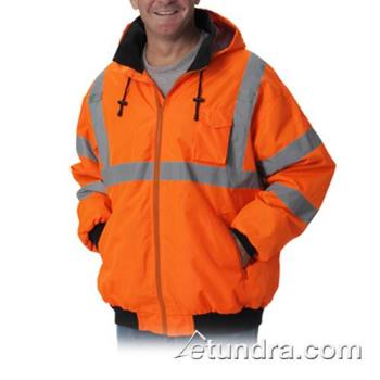 PIN3331762OR5X - PIP - 333-1762-OR/5X - Orange Class 3 Bomber Jacket 5XL Product Image