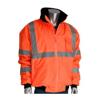 PIN3331762ORXL - PIP - 333-1762-OR/XL - Orange Class 3 Bomber Jacket XL Product Image