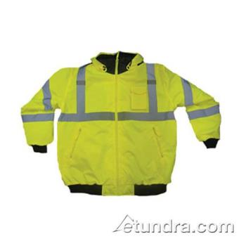PIN3331762YELL - PIP - 333-1762-YEL/L - Yellow Class 3 Bomber Jacket (L) Product Image