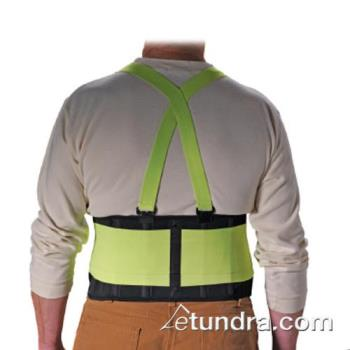 "PIN290550XXL - PIP - 290-550XXL - 8"" Lime-Yellow Back Support (2XL) Product Image"