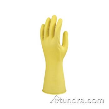 PIN48L212YM - PIP - 48-L212Y/M - Lined Yellow Latex Gloves (M) Product Image