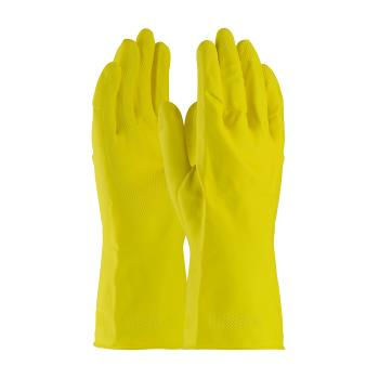 PIN48L212YL - PIP - 48-L212Y/L - Large Lined Yellow Latex Gloves Product Image