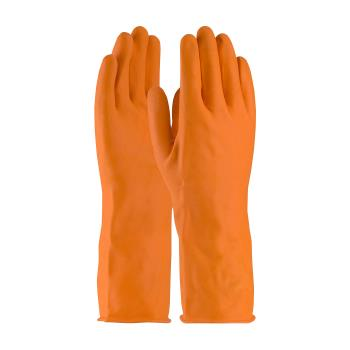 PIN48L302TL - PIP - 48-L302T/L - Lined Orange Latex Gloves (L) Product Image