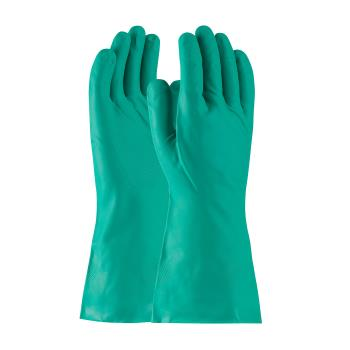 "PIN50N140GL - PIP - 50-N140G/L - 13"" Green 13 mil Nitrile Gloves w/ Grip (L) Product Image"
