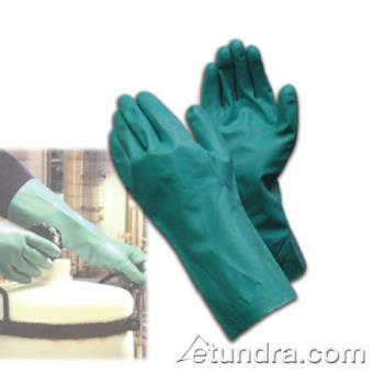 "PIN50N155GS - PIP - 50-N155G/S - 13"" Green 16 mil Nitrile Gloves w/ Grip (S) Product Image"